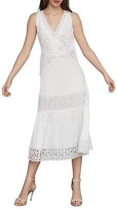 BCBGMAXAZRIA Sleeveless Lace Shift Dress