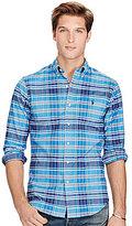 Polo Ralph Lauren Slim-Fit Plaid Stretch Oxford Shirt