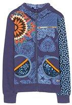 Desigual Girl's SWEAT_DANTE Sweatshirt, Blue (5128 Twilight 5128)