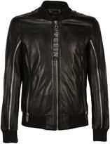 Philipp Plein Shake It Out Leather Jacket