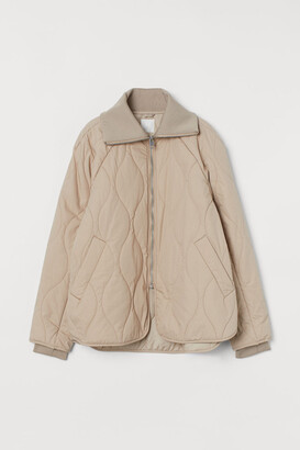 H&M Quilted Jacket - Beige