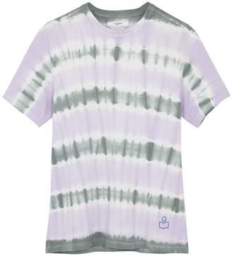 Etoile Isabel Marant Dena Tie-dyed Cotton T-shirt