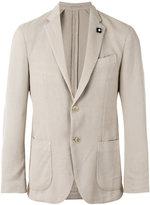 Lardini classic blazer - men - Cotton/Viscose/polyester - 48