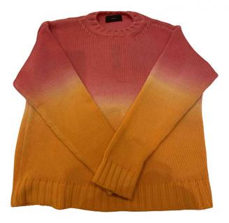 Alanui Orange Cashmere Knitwear