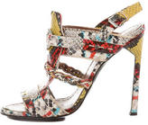 Proenza Schouler Embossed Leather Sandals
