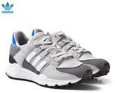 adidas Grey EQT Support Junior Trainers