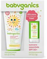 BabyGanics Sunscreen Lotion/Stick Combo - SPF 50 - 6.47oz