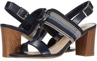 Bandolino Declan (New Luxe Navy/Navy Multi) Women's Shoes