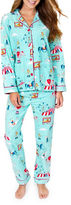 PJ Salvage Circus Printed Top & Pajama Pants Set