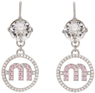 Miu Miu Silver Micro Candy Earrings