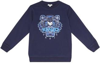 Kenzo Kids Cotton sweatshirt