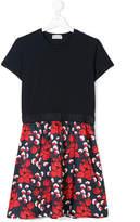 Moncler TEEN floral print dress