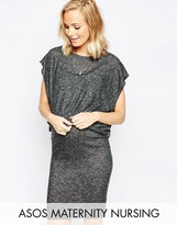 ASOS Maternity - Nursing ASOS Maternity NURSING Column Dress with Double Layer