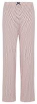 George Heart Print Pyjama Bottoms