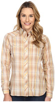 Roper Earth Tone Plaid with Embroidery