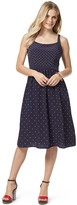 Tommy Hilfiger Final Sale- Mixed Dot Midi Dress