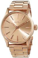 Nixon Women's Quartz Watch Analogue Display and Stainless Steel Strap A450897-00