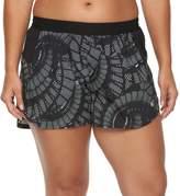 Champion Plus Size Sport 5 Printed Woven Shorts