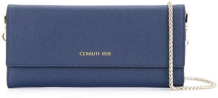 Cerruti (チェルッティ) - Cerruti 1881 フォールドオーバー ショルダーバッグ