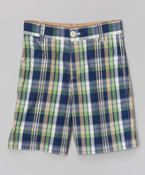 E-Land Kids Clover Plaid Shorts - Boys