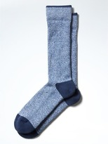 Banana Republic Textured Sock with COOLMAX® Technology