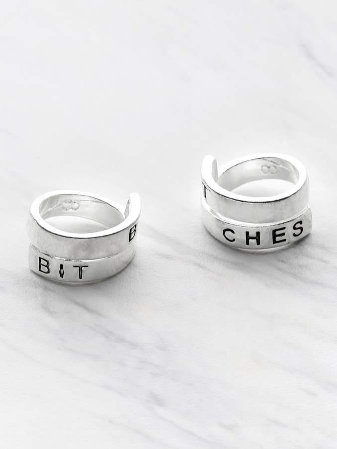 6bd1299935 Letter Rings - ShopStyle