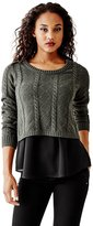 GUESS Florence Boxy Pullover Sweater