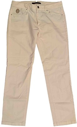 Trussardi Pink Cotton - elasthane Jeans for Women