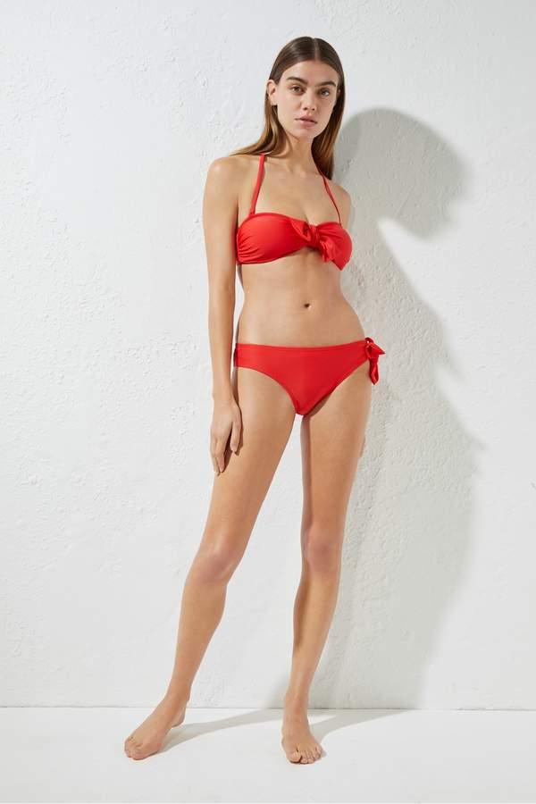 c2dc8bcc9b5 Bow Bandeau Top Bikini - ShopStyle UK