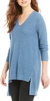 Eileen Fisher V-Neck Sweater Top