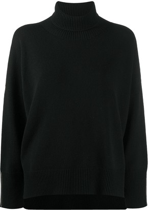 Peserico Roll Neck Chunky-Knit Jumper
