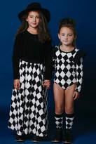 Rock Your Baby Black and White Checkered Skirt