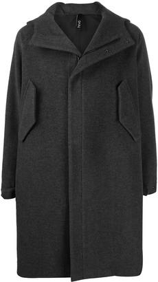 Hevo Hooded Single-Breasted Coat