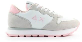 Sun 68 Sun68 Ally Solid White Nylon Sneaker