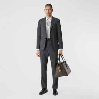 Burberry Slim Fit Stretch Wool Suit