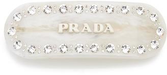 Prada Plex Jeweled Barrette