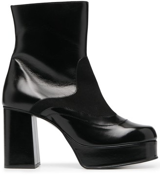 See by Chloe Platform-Sole Ankle Boots
