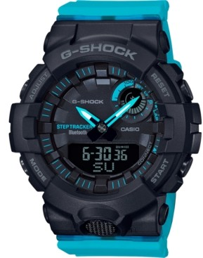 G-Shock Women's Power Trainer Blue Resin Strap Watch 45mm