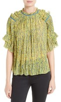 Saloni Women's Cora Ruffle Top
