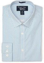 Original Penguin Long Sleeve Star Poplin Dress Shirt