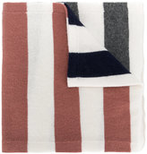 Semi-Couture Semicouture contrast striped scarf