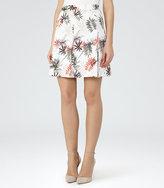 Reiss Selena Skirt Printed Skirt