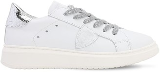 Philippe Model Granville Leather Lace-Up Sneakers