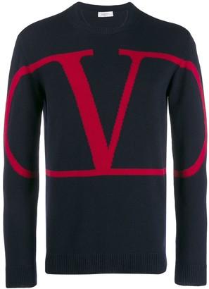 Valentino cashmere VLOGO jumper