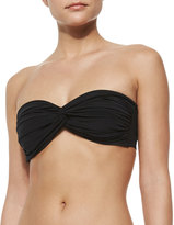 Norma Kamali Johnny D Bandeau Swim Top