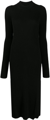 Maison Margiela Rib-Knit Long Jumper