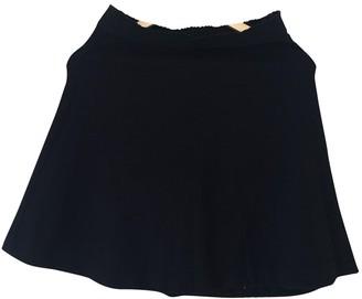 Sandro Black Cotton Skirt for Women