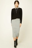 Forever 21 FOREVER 21+ Contemporary Sweater Midi Skirt