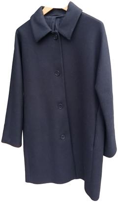 Cos Black Wool Coats
