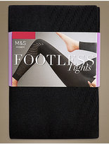 M&S Collection Punch Hole Footless Tights